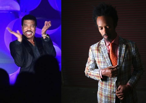 Lionel Richie (left) and Fantastic Negrito