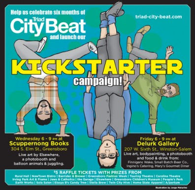 'City Beat' used smart use of Kickstarter.